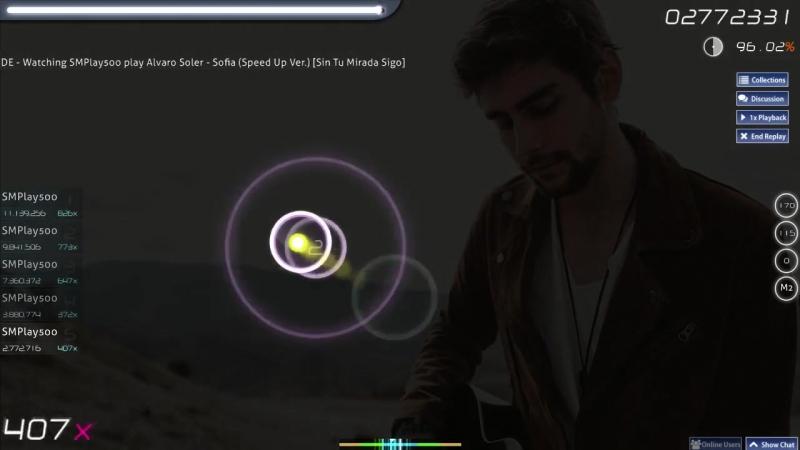 Alvaro Soler - Sofia (Speed up Ver) OSU! GAME