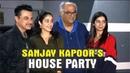 Jhanvi Kapoor Khushi Kapoor Arjun Kapoor At Sanjay Kapoor's House Party