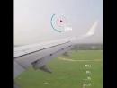 Скорость самолета Boeing B737 когда он приземляется