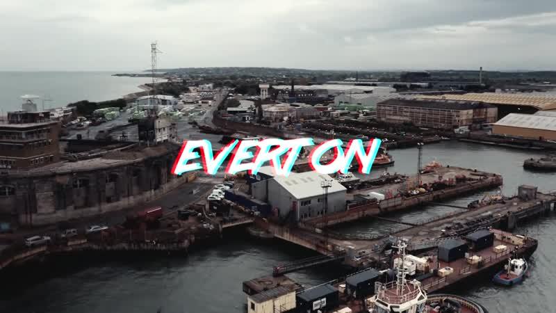 EVERTON × GT-R VS Lamborghini