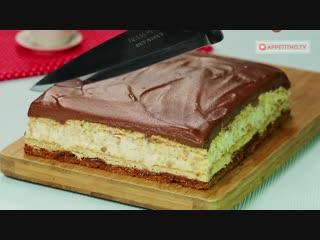 """Не подкопаешься! На редкость вкусный и нежный торт """"Киндер Буэно"""" без выпечки."""