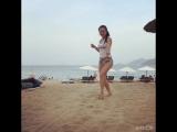 Танцули на пляже Нячанга💃🏻✨. Вьетнам.
