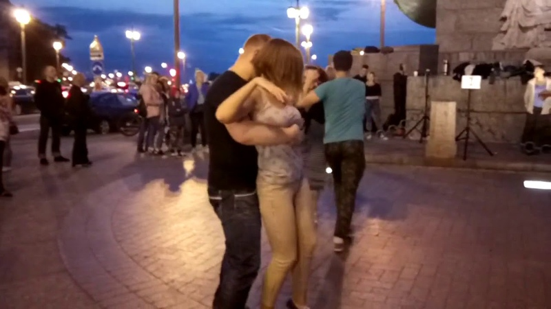 Salsa NY, Илья Вячеславов и Катя Пиир, Стрелка Васильевского острова. Open air 3