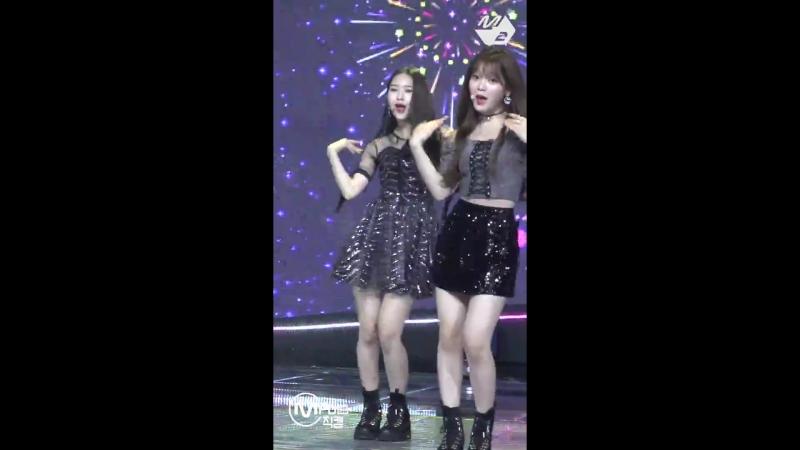 · Fancam · 180920 · OH MY GIRL Remember Me Jiho focus · Mnet M Countdown ·