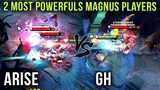 The Two Most Powerful Magnus Players in the World Arise vs GH on Their Signature Heroes - Dota 2
