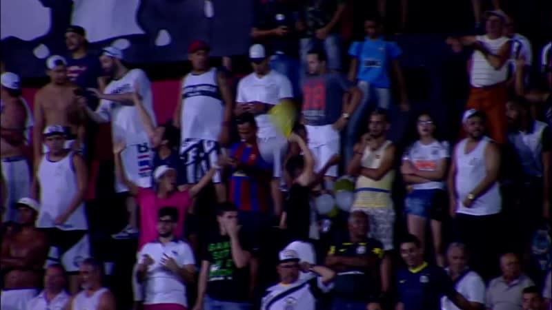 Gol de falta do Rodrygo contra o Sport - Brasileirão 2018