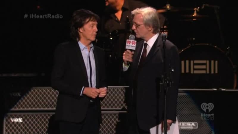 Paul McCartney – QA (817) Live at Frank Sinatra School Of The Arts (09.009.2013)