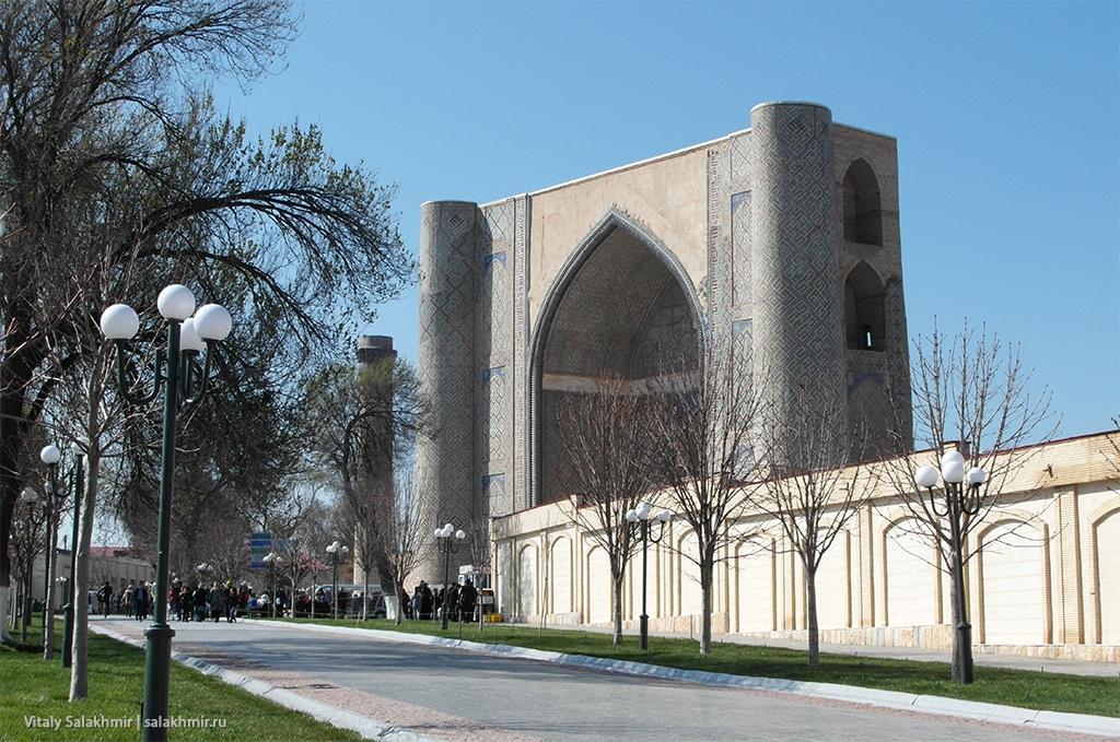 Мечеть Биби-Ханум, Узбекистан, Самарканд 2019