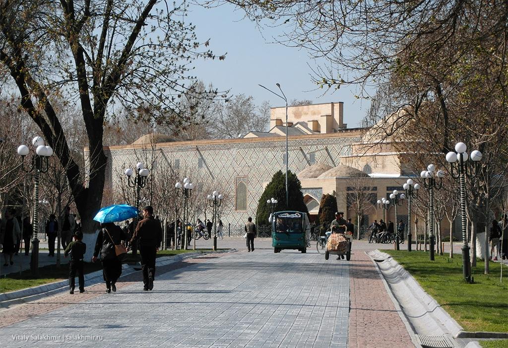 Мартовская температура в Самарканде, Узбекистан 2019