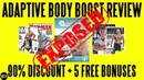 Adaptive Body Boost Review (2018) ⚠️WARNING⚠️ Don't Buy Adaptive Body Boost Before You Watch This!