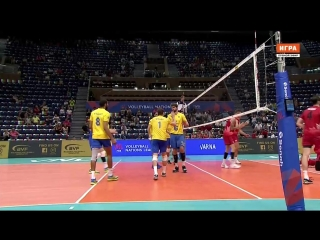 Лига наций. Канада - Бразилия. 15.06.2018