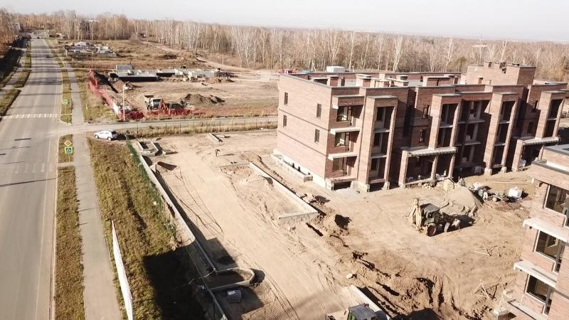 Облет строительной площадки 12.10