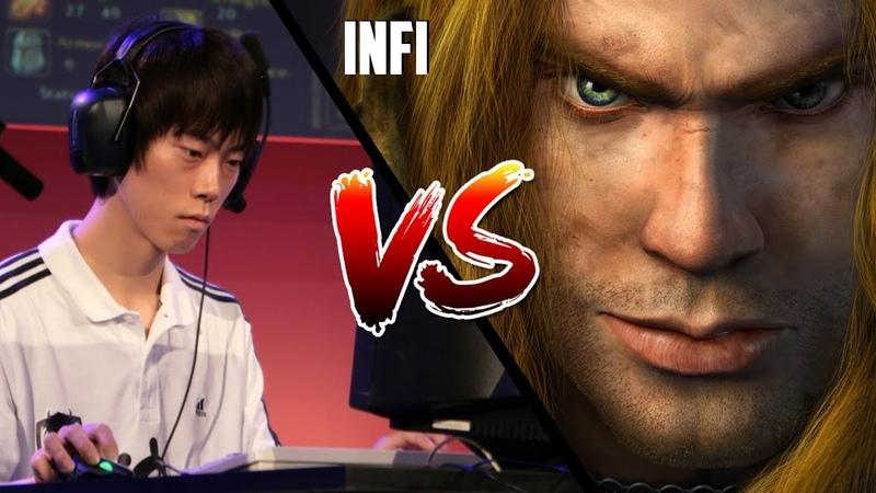 WC3: Moon (Night Elf) vs. Infi (Human) [BlizzCon 2010 G1] | Warcraft 3