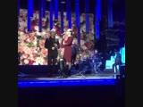 Дмитрий Харатьян и Екатерина Гусева на репетиции песни для передачи