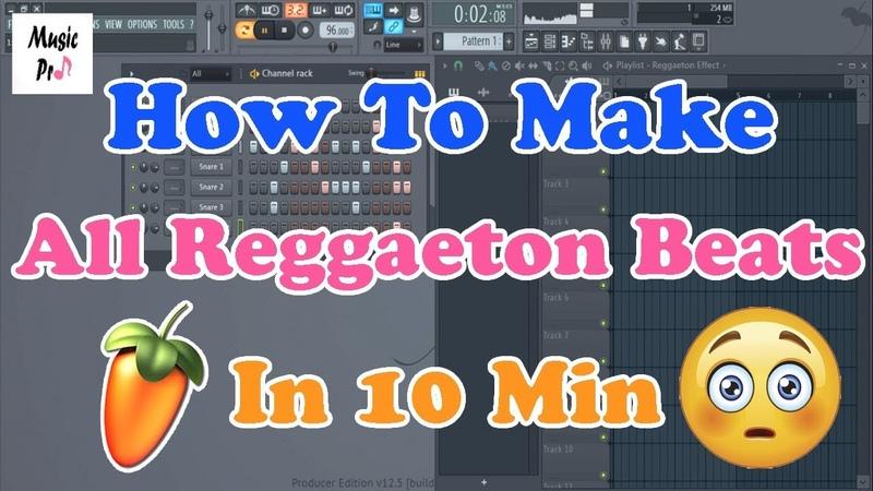 How To Make All Reggaeton Beats In 10 Min - FL Studio Tutorial