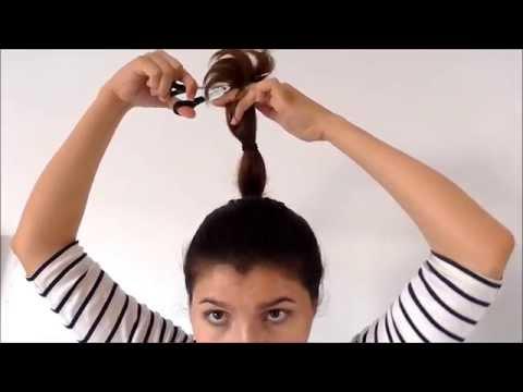 Corte de pelo escalonado, facil y rapido. Hazlo tu misma!!