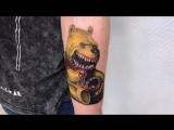 Тату-мастер Илья Калиниченко (realistic horror tattoo Winnie the Pooh) | Тату студия Дом Элит Тату (Tattoo Studio Moscow)