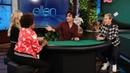 'America's Got Talent' Winner Deals Up an Amazing Trick for Ellen, Wanda Sykes, and Beth Behrs