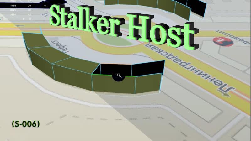 Stalker Host проект 3D (S-006) макет города MGN