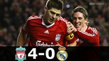 Liverpool vs Real Madrid 4-0 - UCL 20082009 - Highlights (English Commentary)