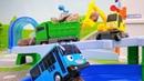 Vidéo pour enfants de bus Tayo et véhicules un permis de conduire