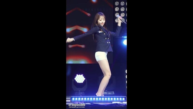 181025 Brave Girls - Easily (Eunji) @ KFN K-Force Special Show