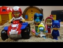 PAW PATROL and TOYS, Look for Toys in Kinetic Sand, Kids Play Fun Game, For Children.