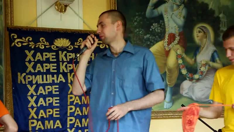 Сценка на Вьюхе бхакти-врикш Ярославля 29 мая 2016