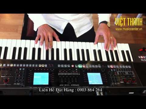 Demo điệu DJ cho Roland EA7
