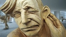 Top 5 AMAZING Time Lapse WOOD CARVING SCULPTURE VIDEOS    3D SCULPTING - Woodturning.