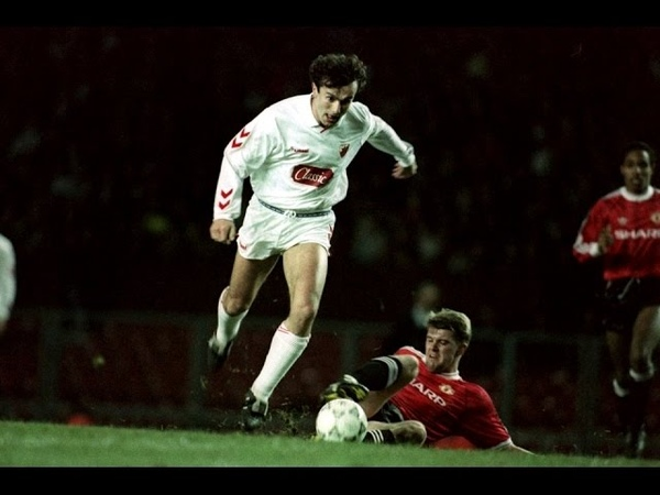 Manchester United Crvena Zvezda 1 0 European Super Cup 1991