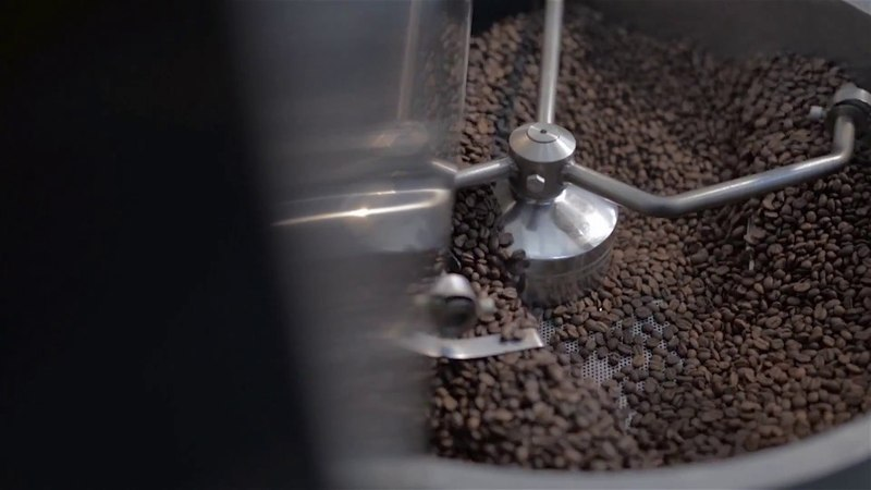 Ростер для обжарки кофе Typhoon промо ролик