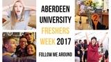 University Freshers Week Vlog Aberdeen Unite Students