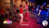 Aleksandr Vorobyev and Marina Vanyushina Salsa Dancing in Mambolove, Monday 11.06.2018