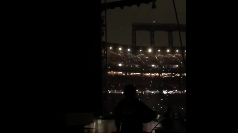 Video from one of BTS_twt's backup dancer today at Citi Field
