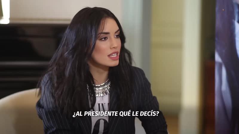 """Lali Espósito _""""Al Presidente le diría Vamos hermano, hagan lo que tienen que hacer_"""""""