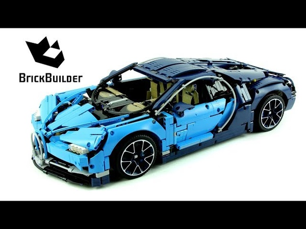Lego Technic 42083 Bugatti Chiron Lego Speed build