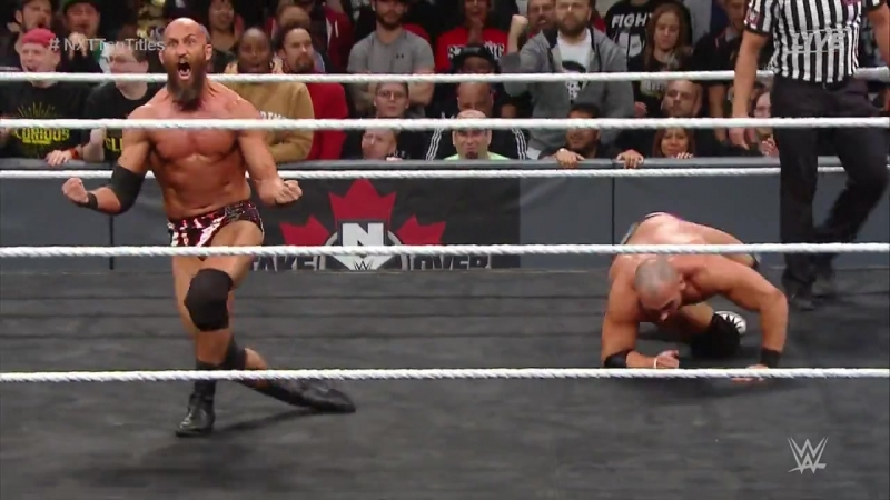 NXT TakeOver - Toronto (2016) - DIY vs The Revival - 2 Out Of 3 Falls Tag Match - NXT Tag Team Titles