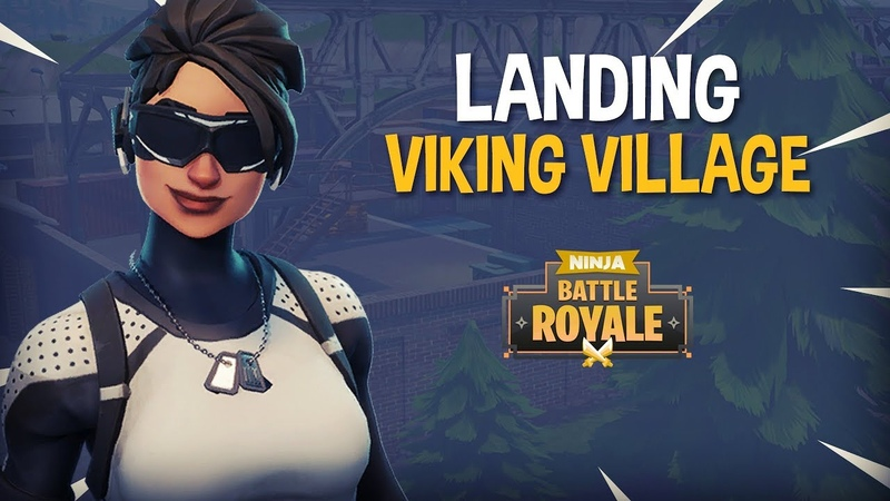 Landing Viking Village!! - Fortnite Battle Royale Gameplay - Ninja
