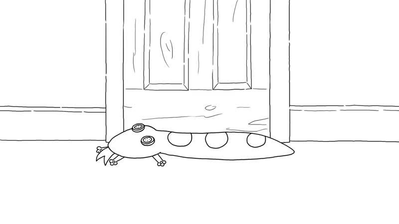 Simons Cat in 'Kitten Vs Snake' (A Halloweens Special) (Episode 85)