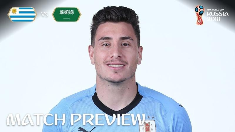 Jose Gimenez Uruguay Match 18 Preview 2018 FIFA World Cup™