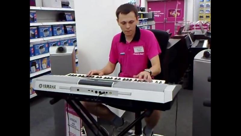 Продавец жжёт - real импровизация (синтезатор Yamaha PSR-S910)