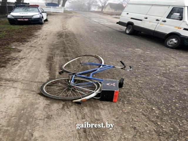 Столин: в ДТП травмирован велосипедист