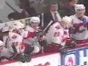 NHL Brawl Flames VS Ducks