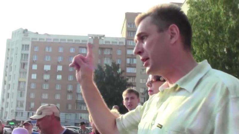 Митинг 12 июля Новосибирск против повышения пенсионного возраста