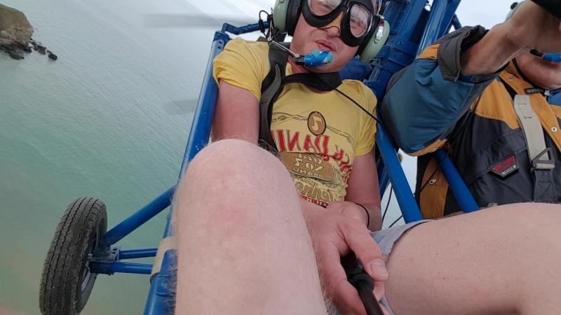 Полет над морем в Крыму на мотодельтаплане Незабываемые ощущения