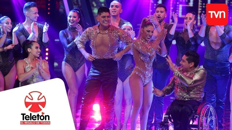 Revive la increíble presentación de los campeones de salsa Karen y Ricardo | Teletón 2018