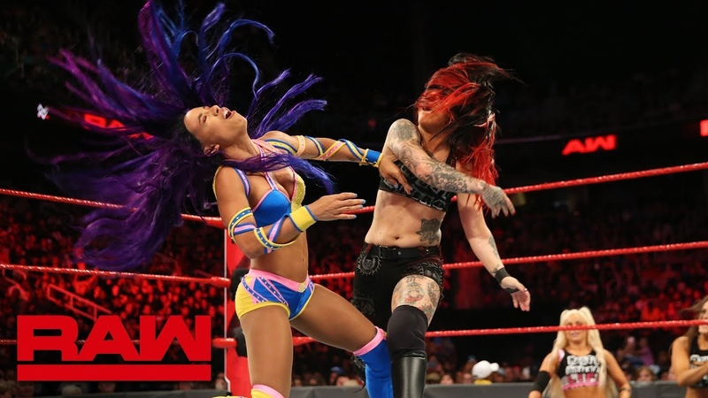 SBMKV_Video | Sasha Banks vs. Ruby Riott Raw, Aug. 13, 2018