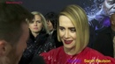 Actress Sarah Paulson hit the Glass premiere in NYC