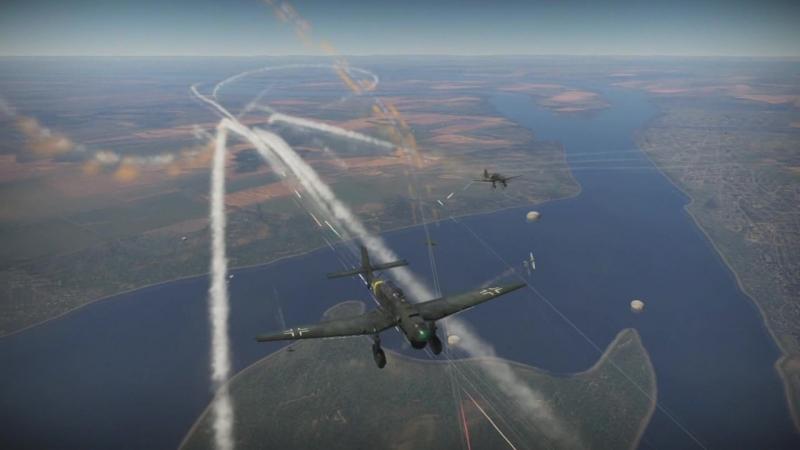 War Thunder/Бой на самолетах/Защита базы